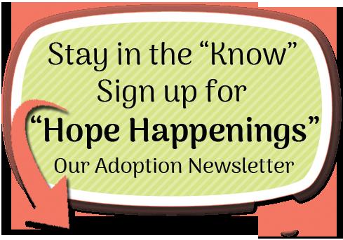 Hope centered Adoption Newsletter